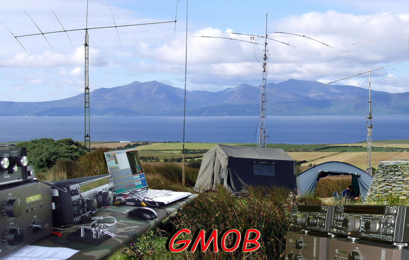 QSL image for GM0B