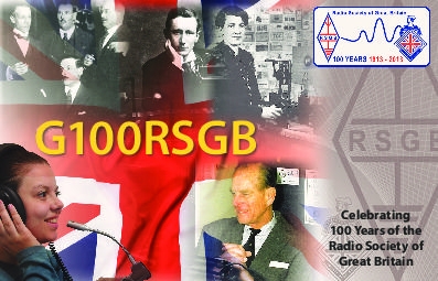 QSL image for GW100RSGB