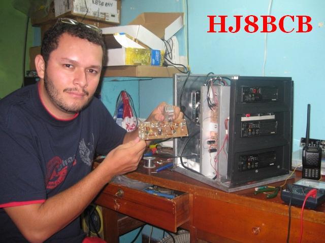 QSL image for HJ8BCB