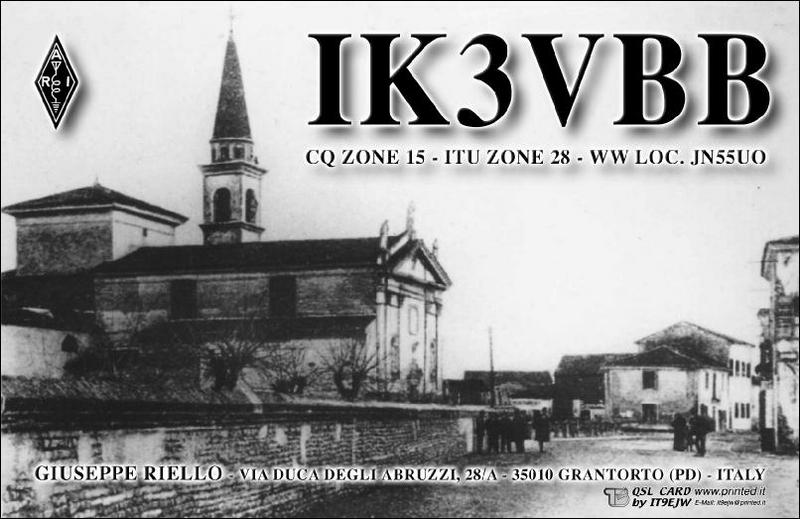 QSL image for IK3VBB