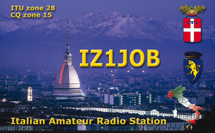 QSL image for IZ1JOB