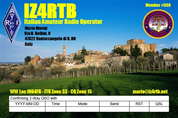 QSL image for IZ4RTB