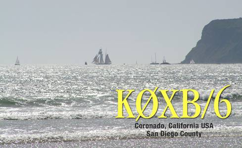 QSL image for K0XB