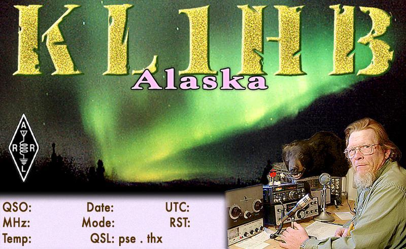 QSL image for KL1HB