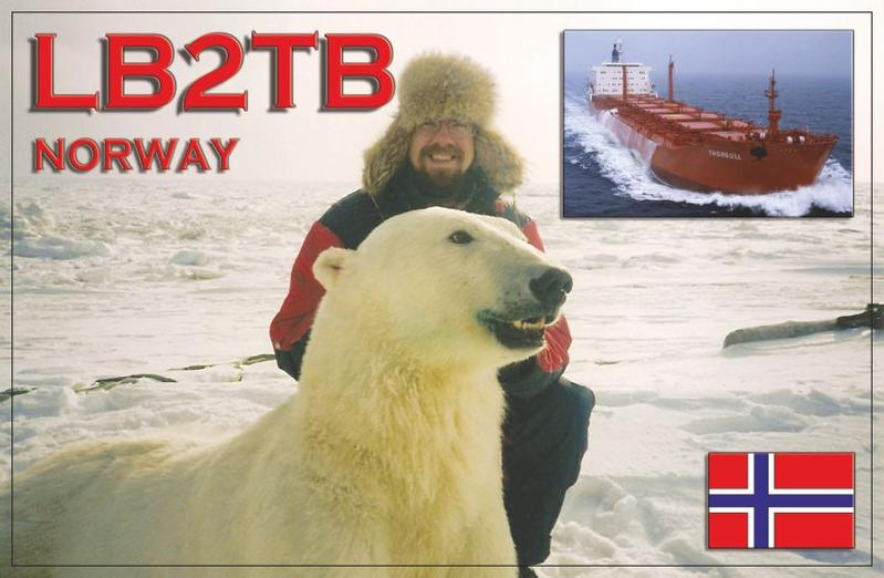 QSL image for LB2TB