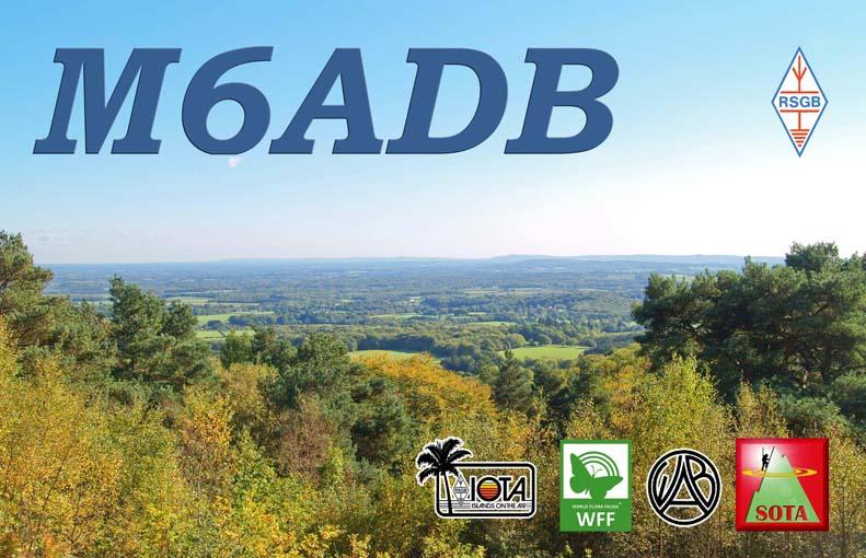 QSL image for M6ADB