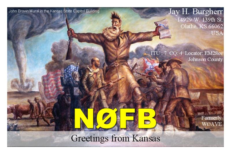 QSL image for N0FB