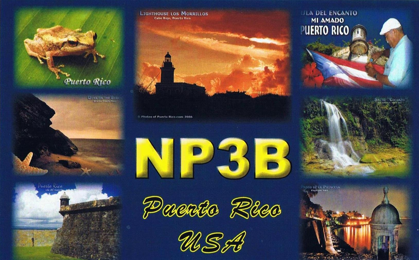 QSL image for NP3B