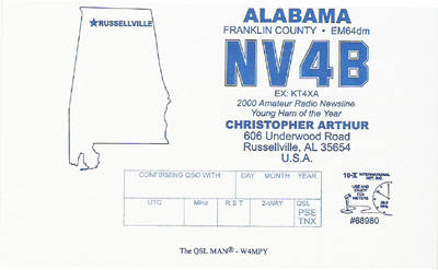 QSL image for NV4B