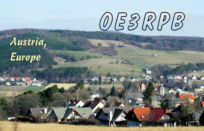 QSL image for OE3RPB