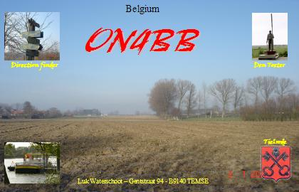 QSL image for ON4BB