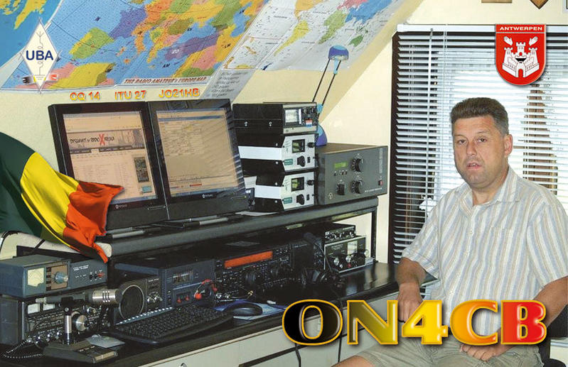 QSL image for ON4CB