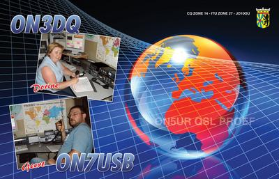 QSL image for ON7USB