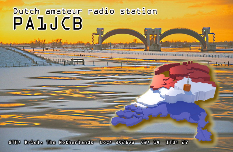 QSL image for PA1JCB