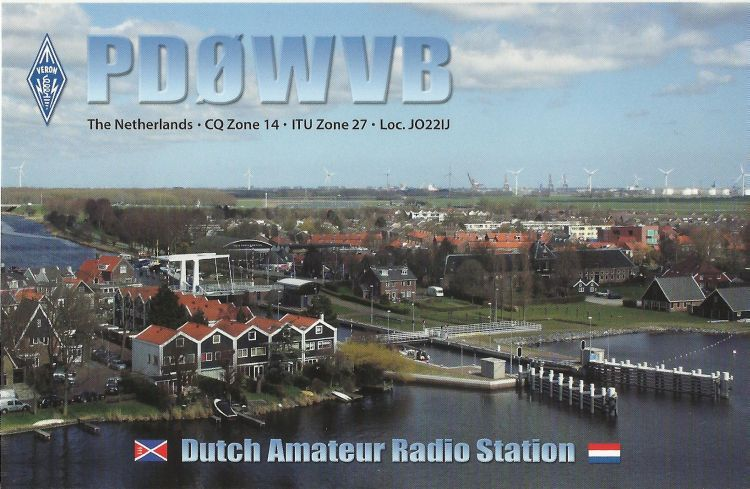 QSL image for PD0WVB