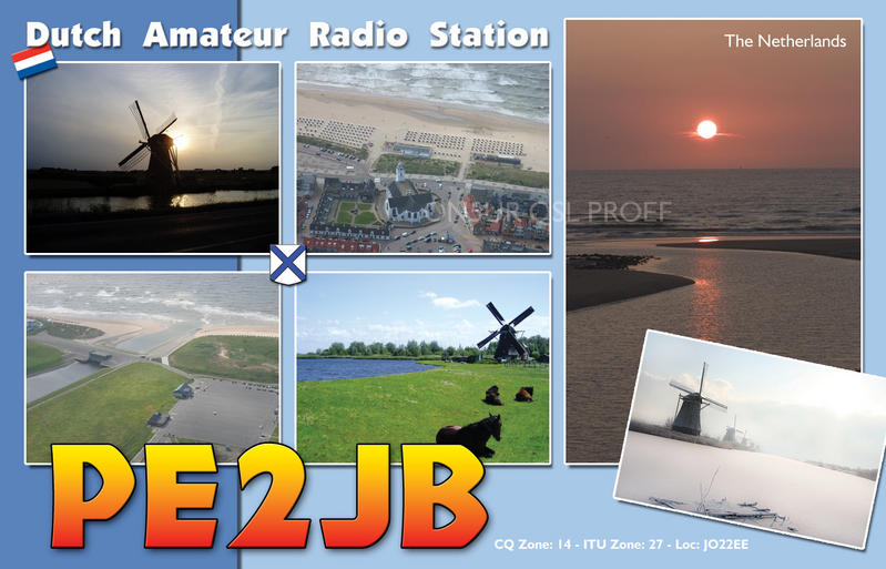 QSL image for PE2JB