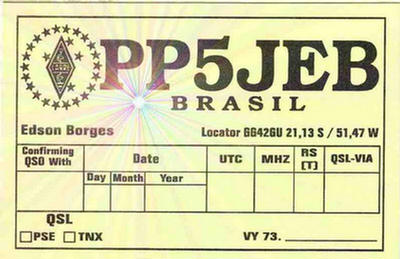 QSL image for PP5JEB