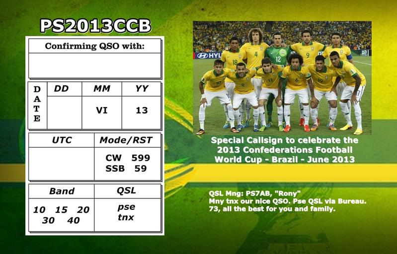 QSL image for PS2013CCB