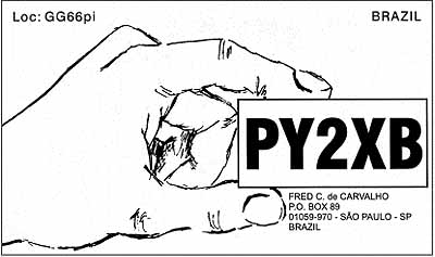 QSL image for PY2XB