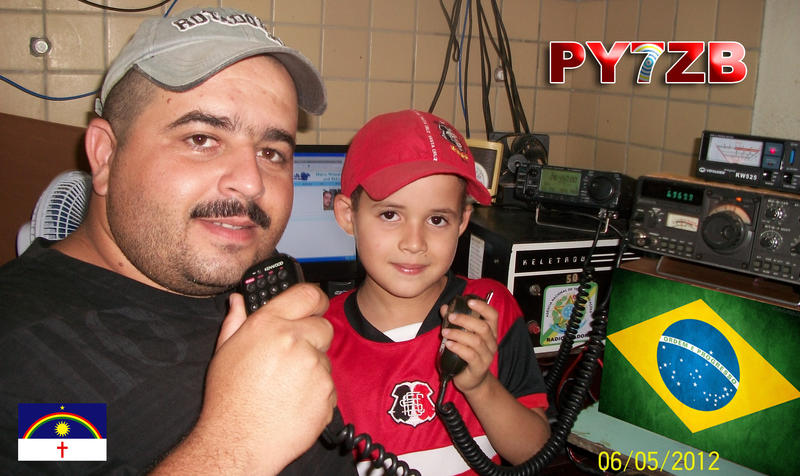 QSL image for PY7ZB