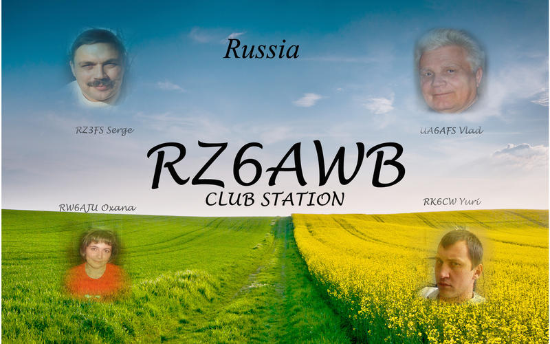 QSL image for RZ6AWB