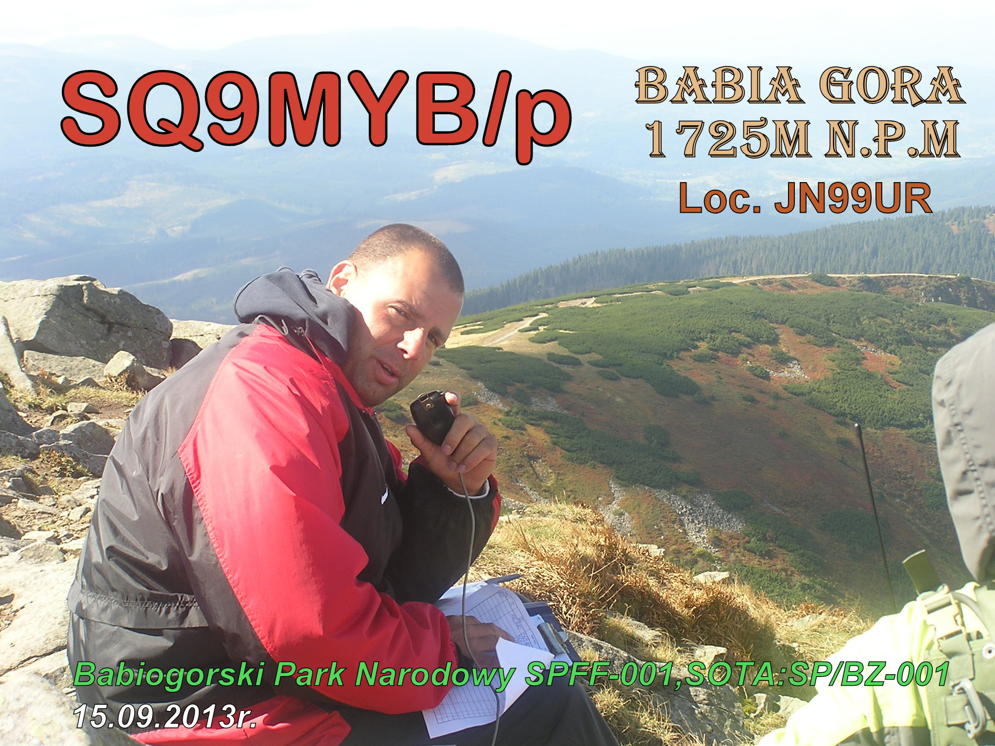 QSL image for SQ9MYB