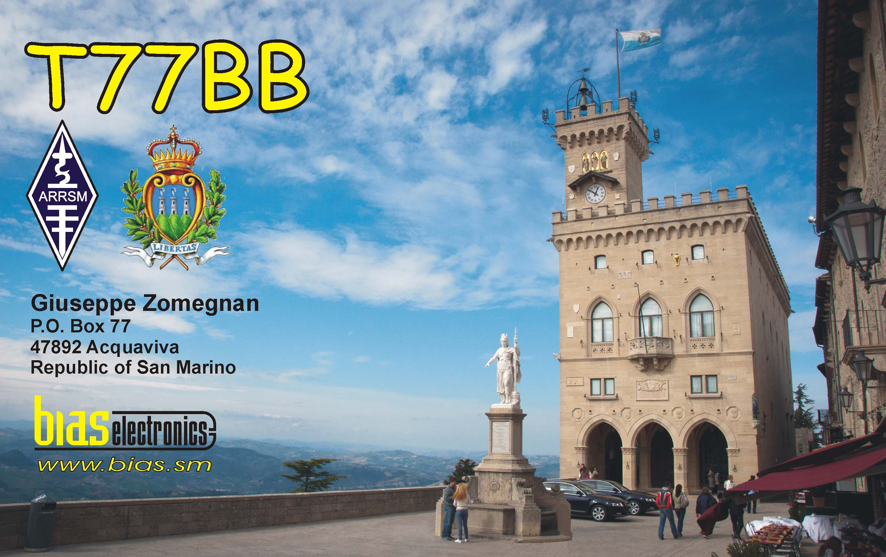 QSL image for T77BB