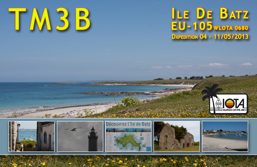 QSL image for TM3B