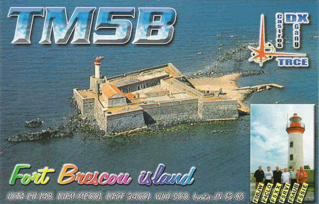 QSL image for TM5B
