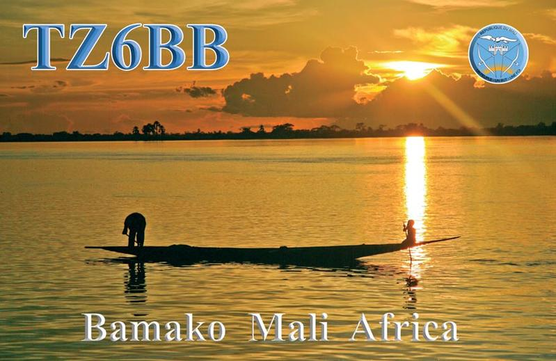 QSL image for TZ6BB