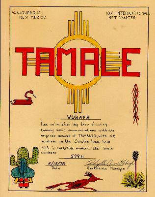 Tamale # 599H