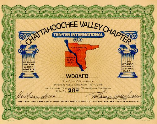 Chattahoochee Valley # 289