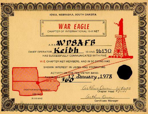 War Eagle # 360