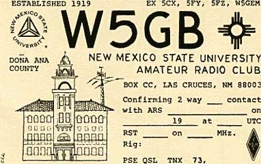 QSL image for W5GB