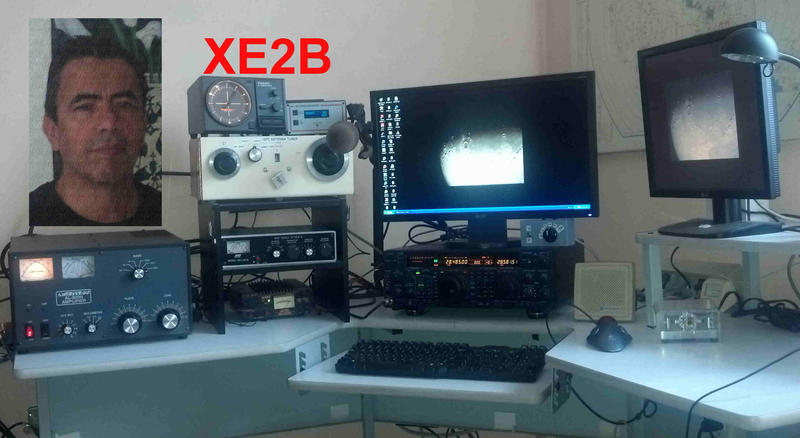 QSL image for XE2B