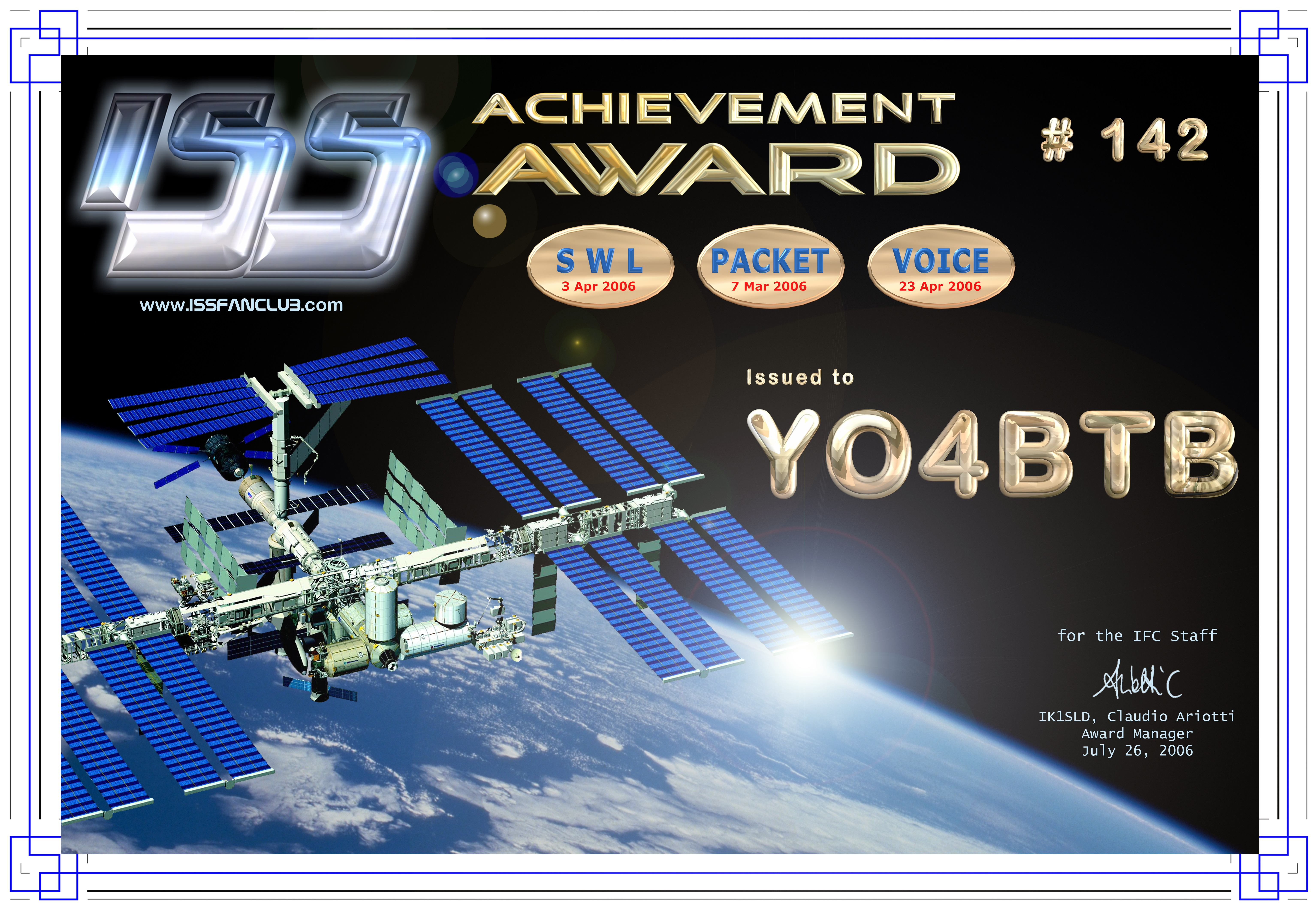 QSL image for YO4BTB