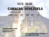 QSL image for YV5MAB