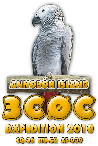 QSL image for 3C0C