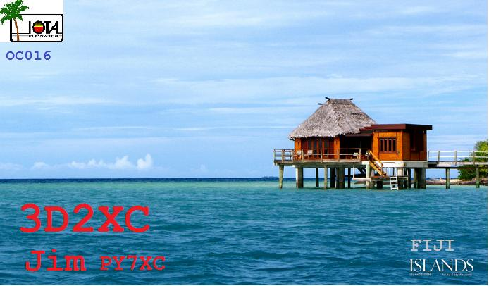 QSL image for 3D2XC