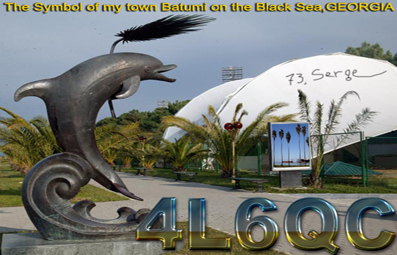 QSL image for 4L6QC