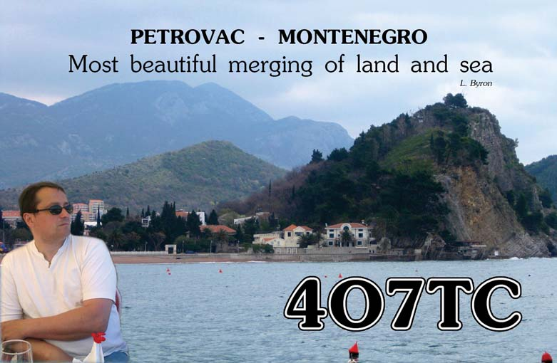 QSL image for 4O7TC