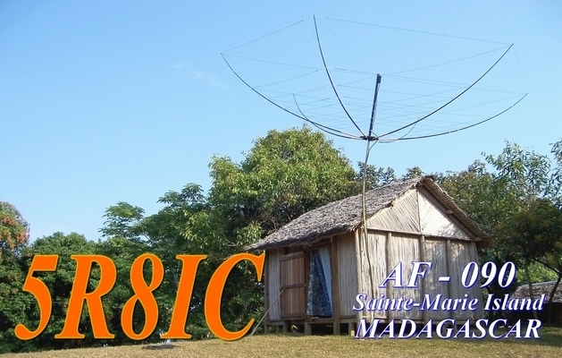 QSL image for 5R8IC