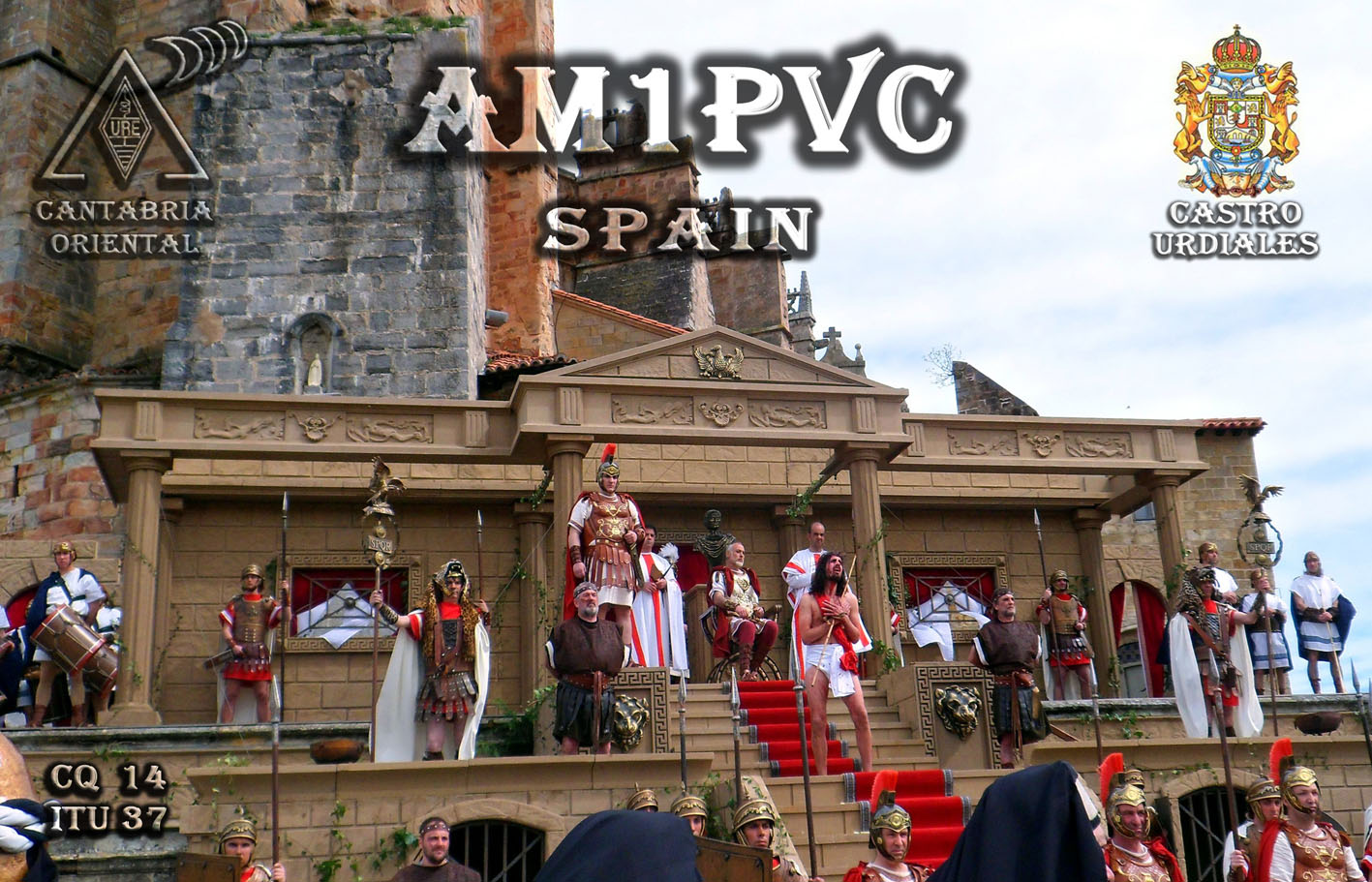 QSL image for AM1PVC