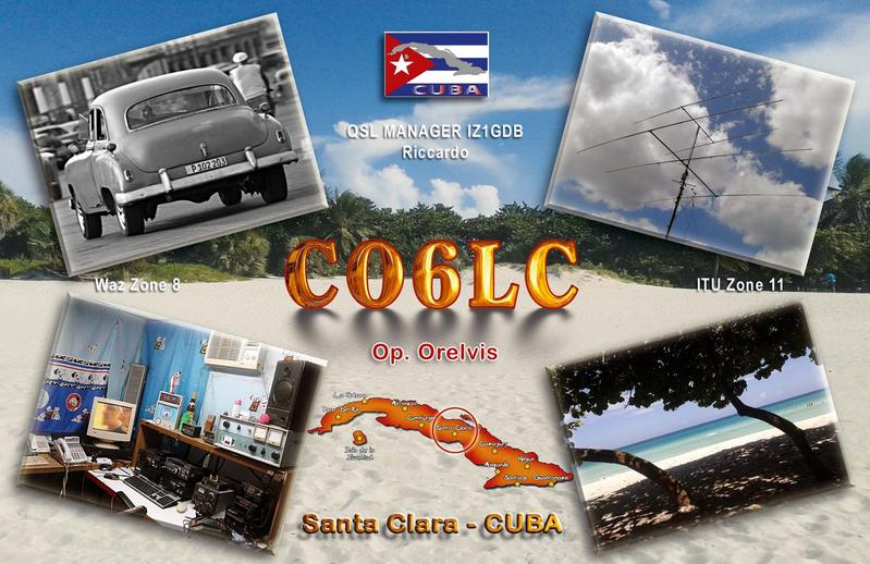 QSL image for CO6LC