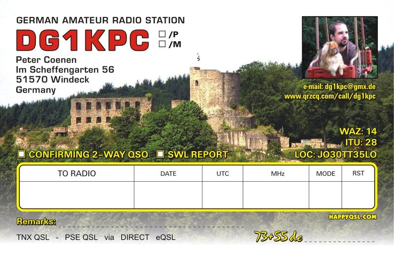 QSL image for DG1KPC