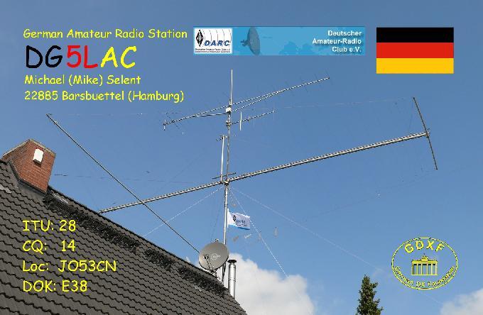 QSL image for DG5LAC