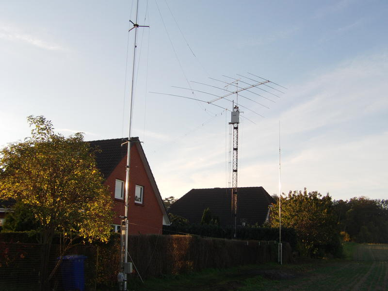 L-Ant 160m., LP7 20m-10m, Trap-GP 40m/30m