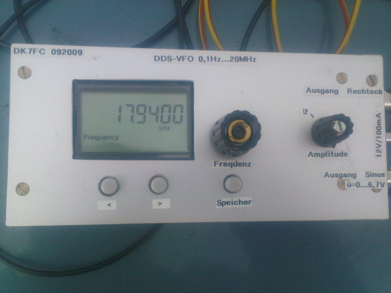 VFO front