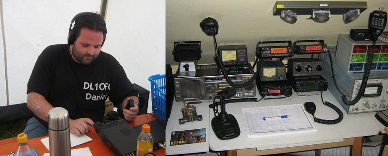 DL1OFC - German Amateur Radio Station.