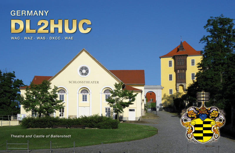 QSL image for DL2HUC